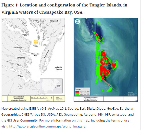 Tangier Island Virginia Map.Can The President S Phone Call Save Tangier Cape Charles Mirror