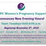 ANPC Women's Pregnancy Support announces new Evening Hours